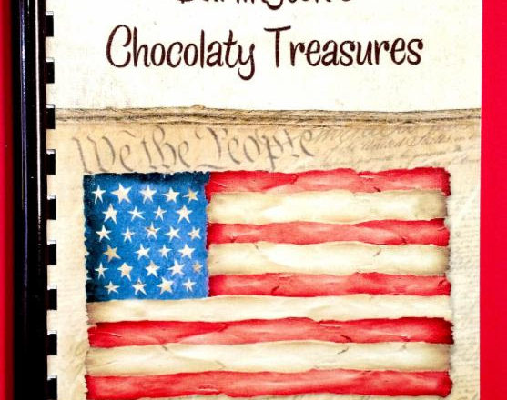 Burlington's Chocolaty Treasures Chocolate Cookbook